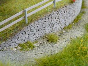 Mur en pierres sèches