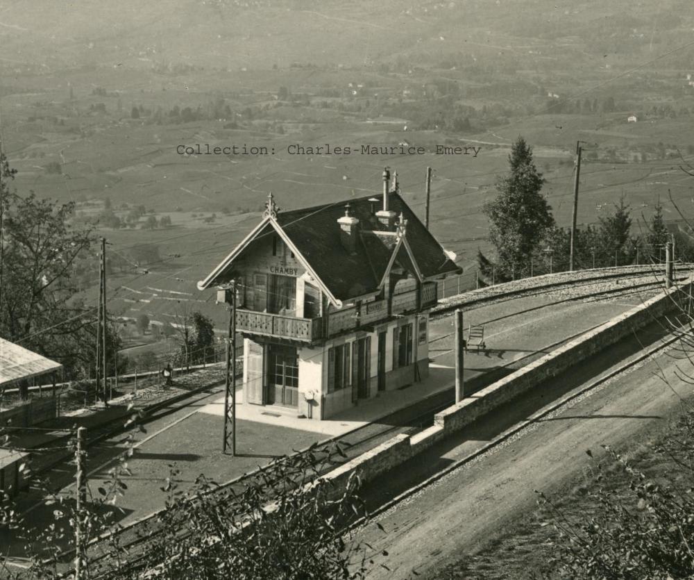 Gare de Chamby (origine)(0m)