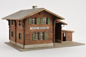 Gare de Davos - Monstein  (RHB)(H0m)