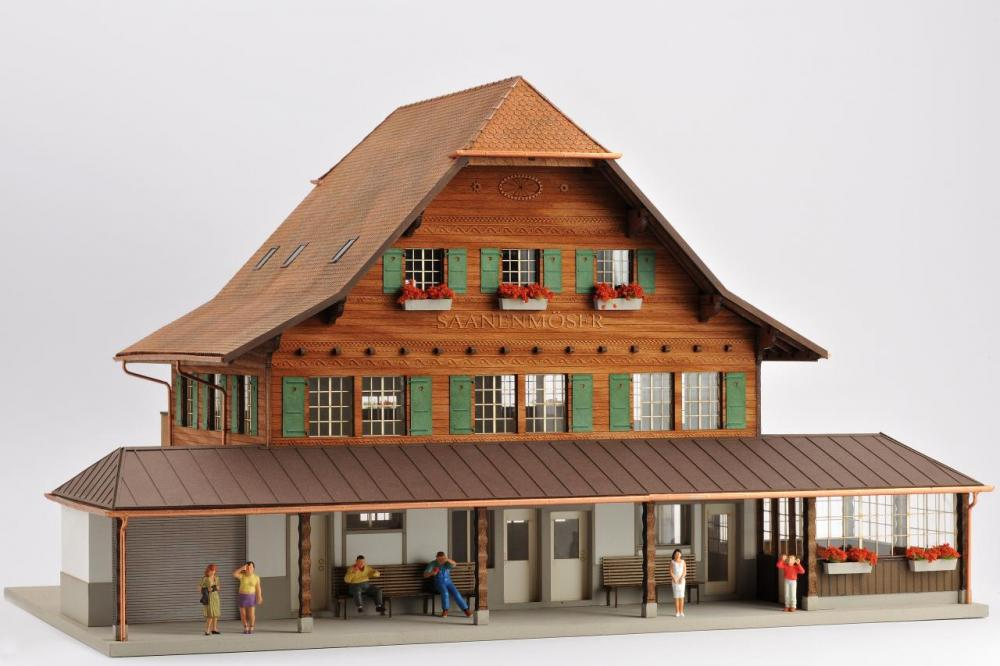 Gare de Saanenmöser (0m)