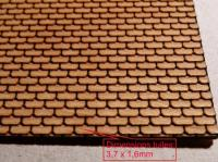 Plaque de toiture ardoise