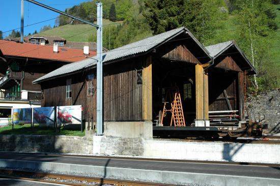 Dépôt de locomotives des Avants (0/0m)
