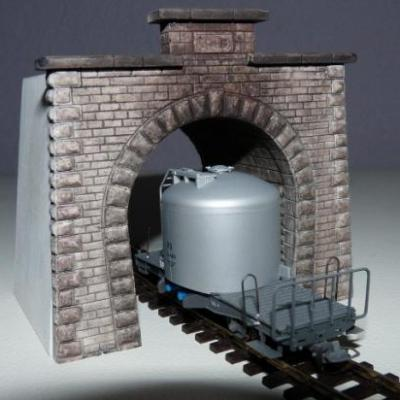 Tunnel de l'Albula (H0m)(portail sud)