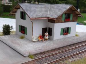 maison de garde barrières du Gotthard (H0)