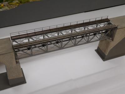 Treilli du viaduc de Flendruz(7 caissons)