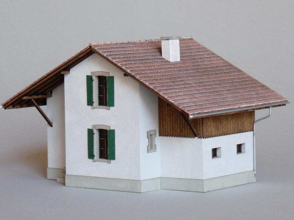 Maison de garde barrières (H0)