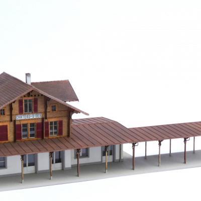Gare de Château d'Oex (version actuel)(H0)