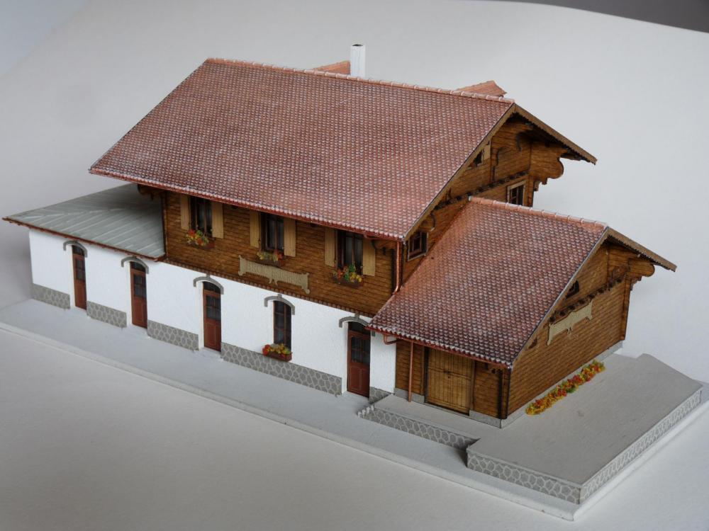 Gare de Broc-Fabrique (H0/H0m)